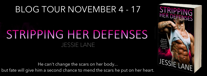 BLOG TOUR ~ STRIPPING HER DEFENSES (Ex Ops #2) by JESSIE