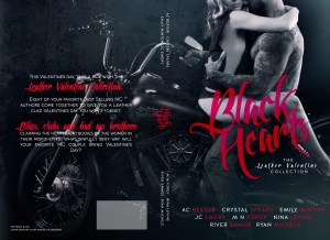 BLACK HEARTS FULL JACKET