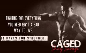 caged banner