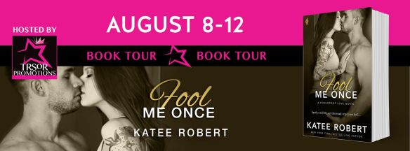 FOOL ME ONCE BOOK TOUR