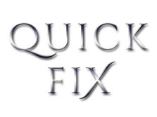 Quick Fix by Ashley Suzanne